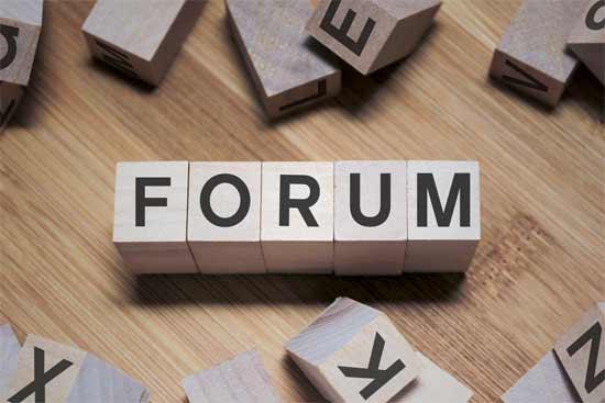 Forum is a public debate platform