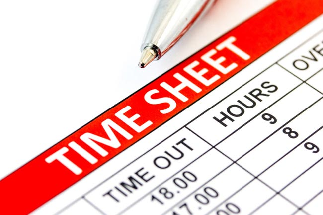 The benefits of timesheet reporting