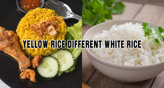 How Is Yellow Rice Different From White Rice