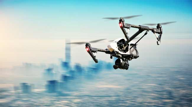 tactic air drone technical facts