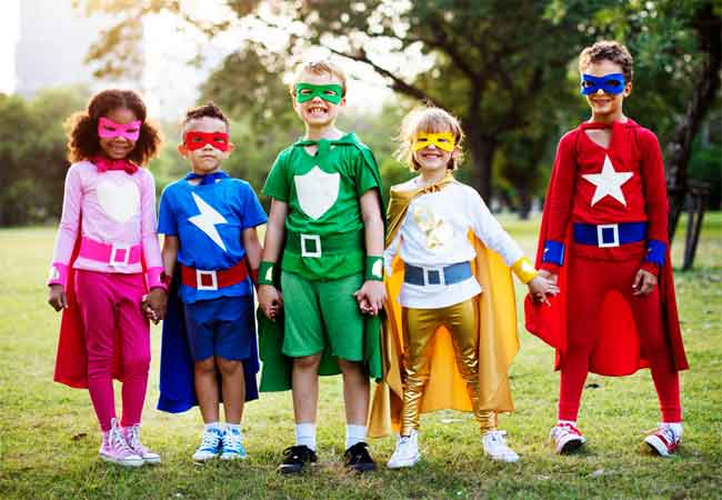 how to make superhero costumes