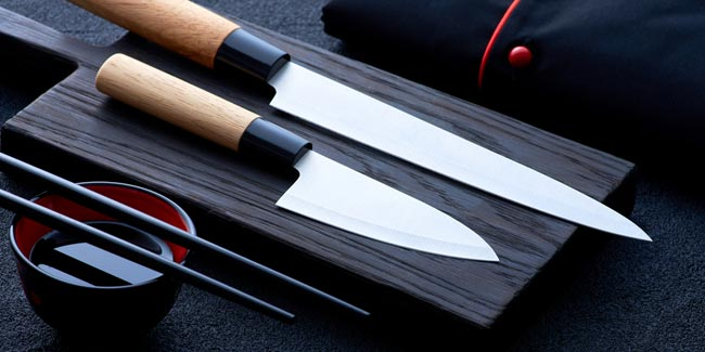 how to sharpen Japanese kitchen knives