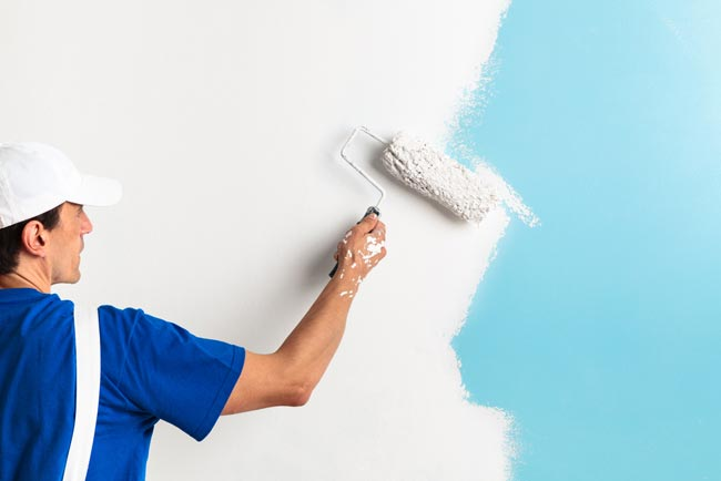 how to prepare a house for painting