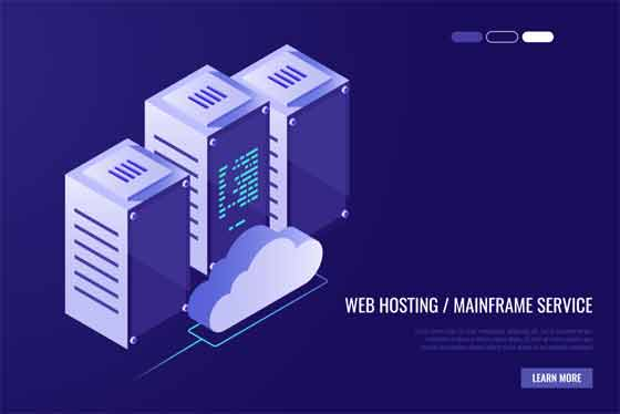 Your aims with the hosting services