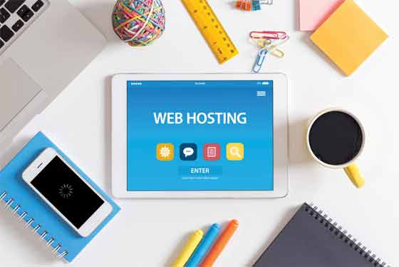 Buy the hosting services from a hosting company