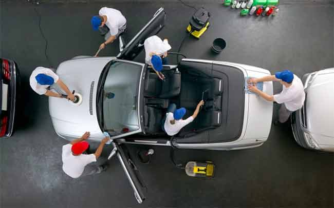 mobile car cleaning service in Swindon