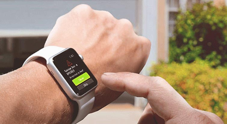 How you can sync contacts to the smartwatch