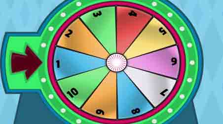 Win the Spinning Wheel
