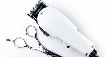 Cut Designs in Hair With Clippers