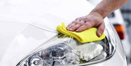 What is Waterless Car Washing