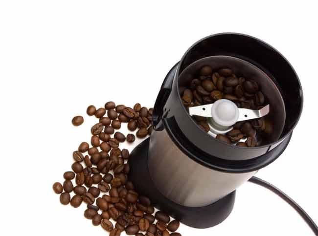 sharpen coffee grinder blades