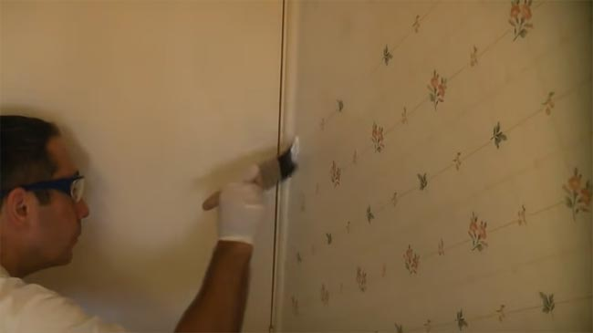 How Do You Paint Over Wallpaper